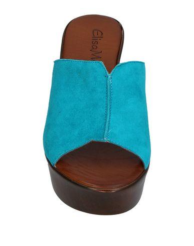 Фото 2 - Женские сандали ELISA MEY® бирюзового цвета