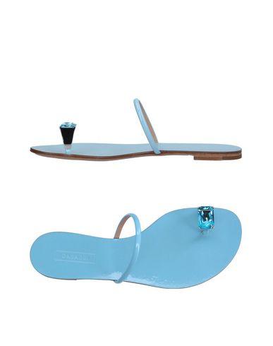 zapatillas CASADEI Sandalias de dedo mujer