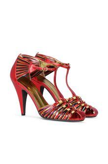PHILOSOPHY di LORENZO SERAFINI Multicolour sandals HEEL Woman f
