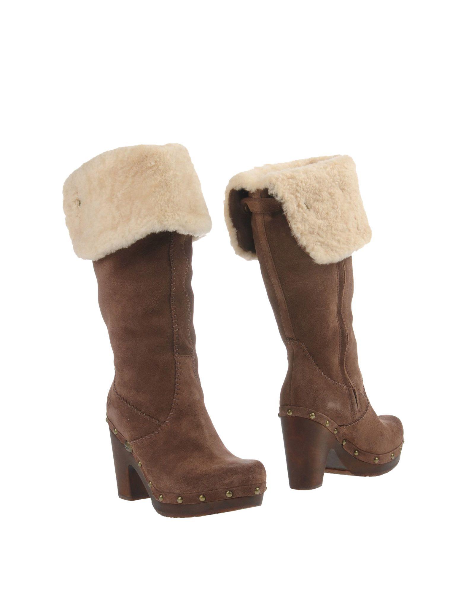 UGG AUSTRALIA Сапоги обувь для дома ugg australia allaria ii scale embossed