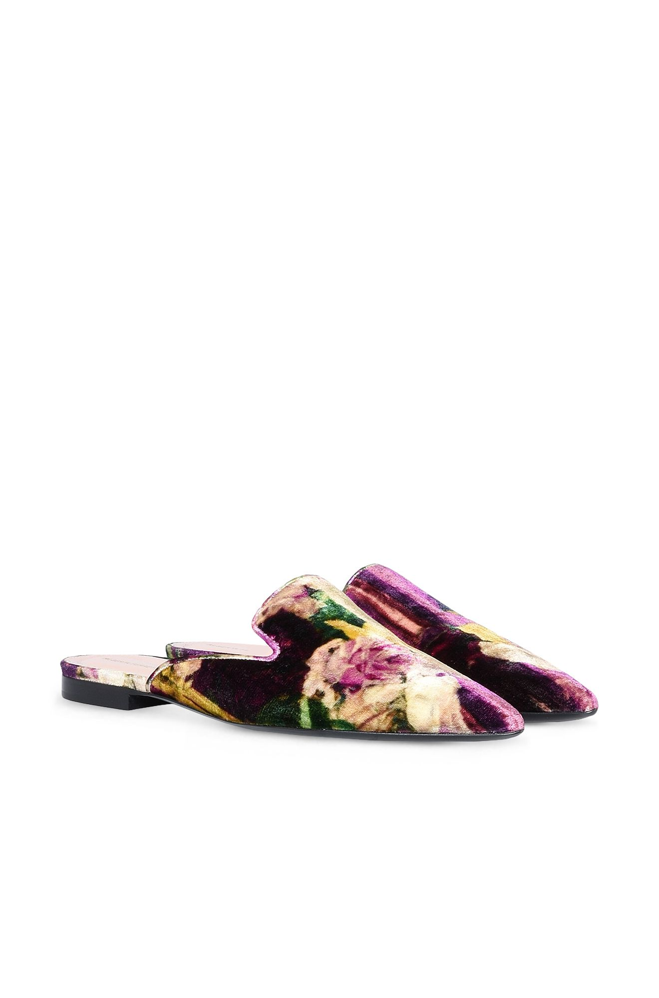 Floral Mia Mules
