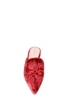 ALBERTA FERRETTI Mia Mules with tone-on-tone finishes Mia Mule Woman d