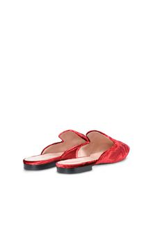 ALBERTA FERRETTI Mia Mules with tone-on-tone finishes Mia Mule Woman r