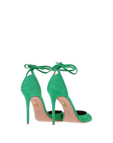 Фото 2 - Женские туфли  зеленого цвета