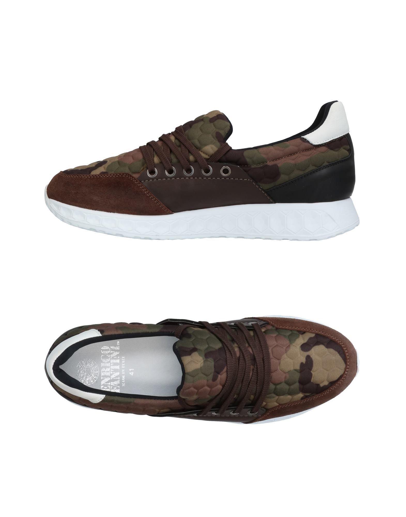 где купить ENRICO FANTINI Низкие кеды и кроссовки по лучшей цене
