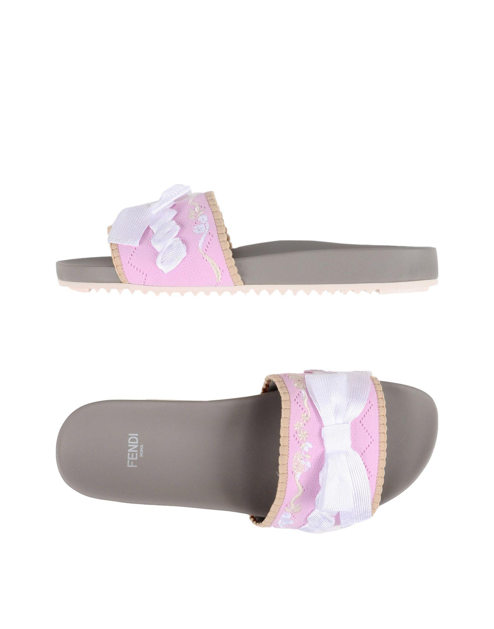 FENDI Сандалии fendi сандалии с ярким логотипом