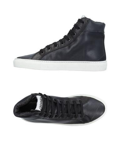 Фото - Высокие кеды и кроссовки от SPRINGA черного цвета