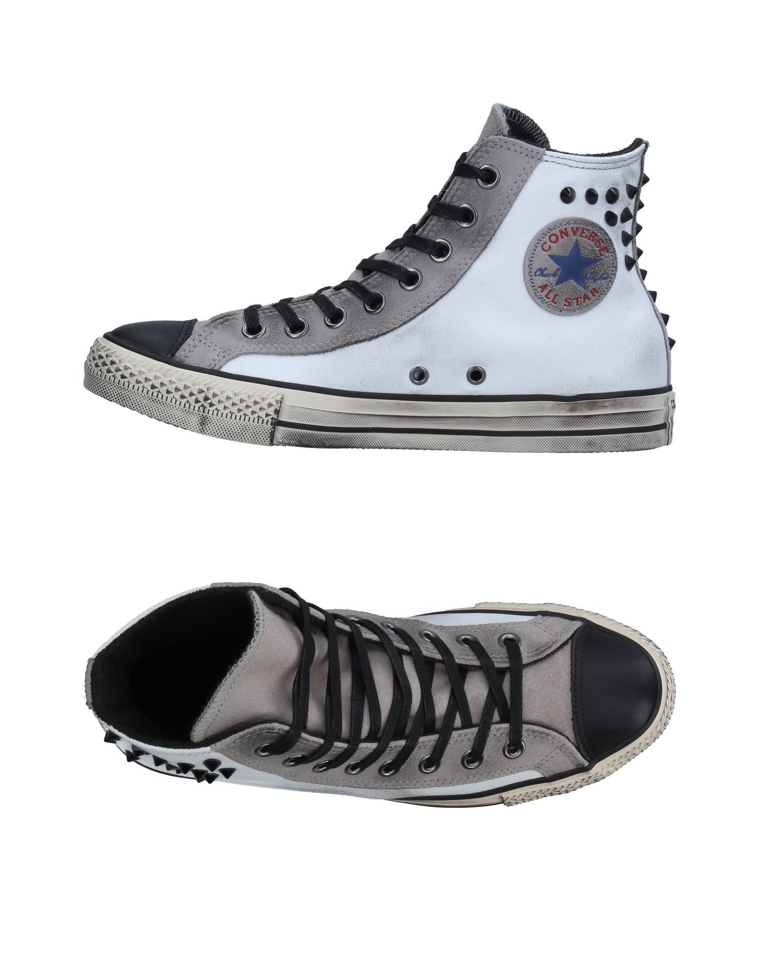CONVERSE ALL STAR Damen High Sneakers & Tennisschuhe Farbe Grau Größe 8