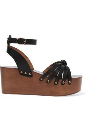 ISABEL MARANT ÉTOILE Étoile Zia leather platform sandals