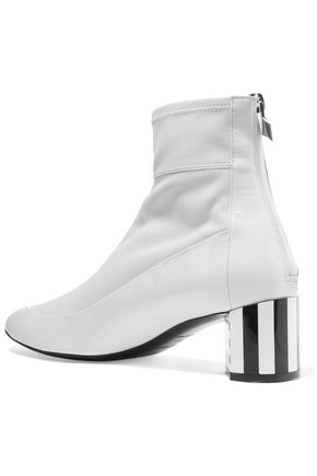 PIERRE HARDY Illusion paneled leather ankle boots