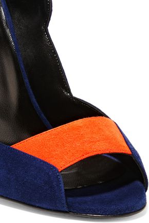 PIERRE HARDY Roxy color-block suede sandals