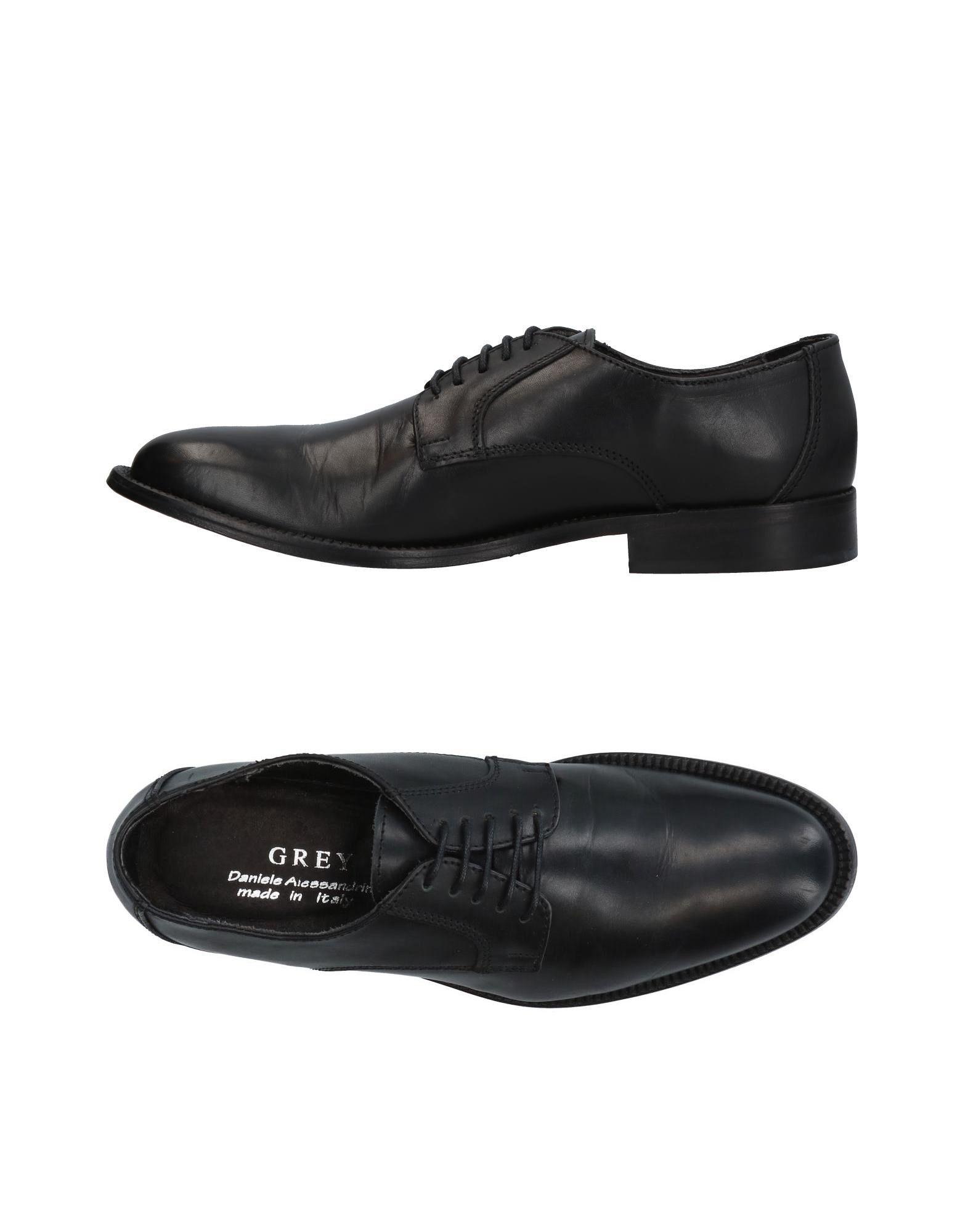 GREY DANIELE ALESSANDRINI Обувь на шнурках daniele michetti daniele michetti ботильоны женские 134