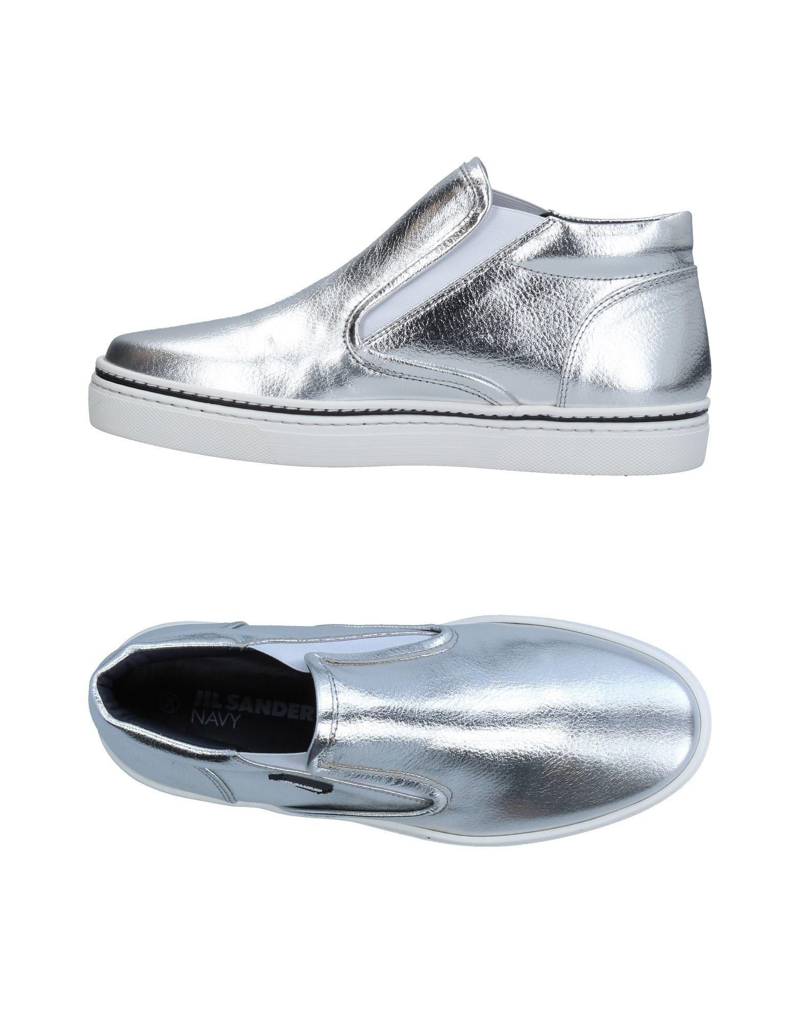 JIL SANDER NAVY Высокие кеды и кроссовки кеды кроссовки высокие женские dc rebound high tx navy gum