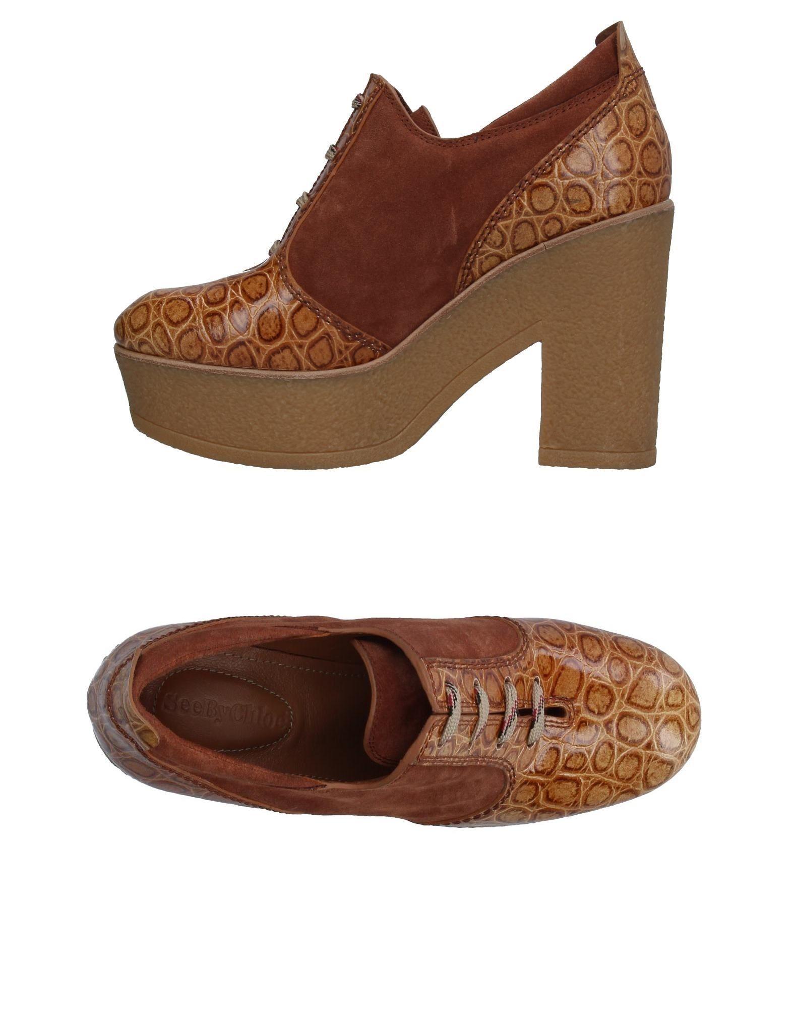 SEE BY CHLOÉ Обувь на шнурках see by chloé сумка на руку