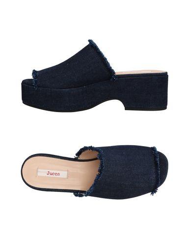 Фото - Женские сандали JUCCA темно-синего цвета