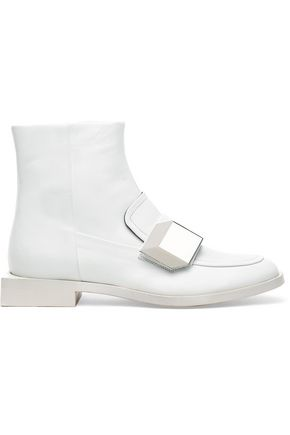 PIERRE HARDY Leather ankle bpots