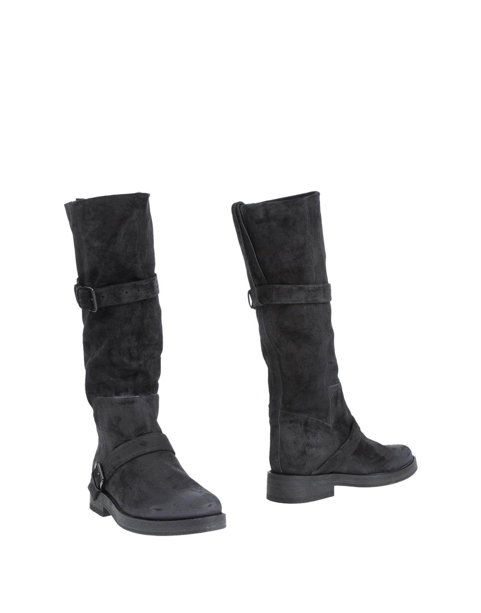 ANN DEMEULEMEESTER レディース ブーツ ブラック 37 革