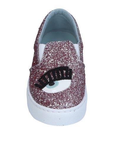 Фото 2 - Низкие кеды и кроссовки от CHIARA FERRAGNI розового цвета