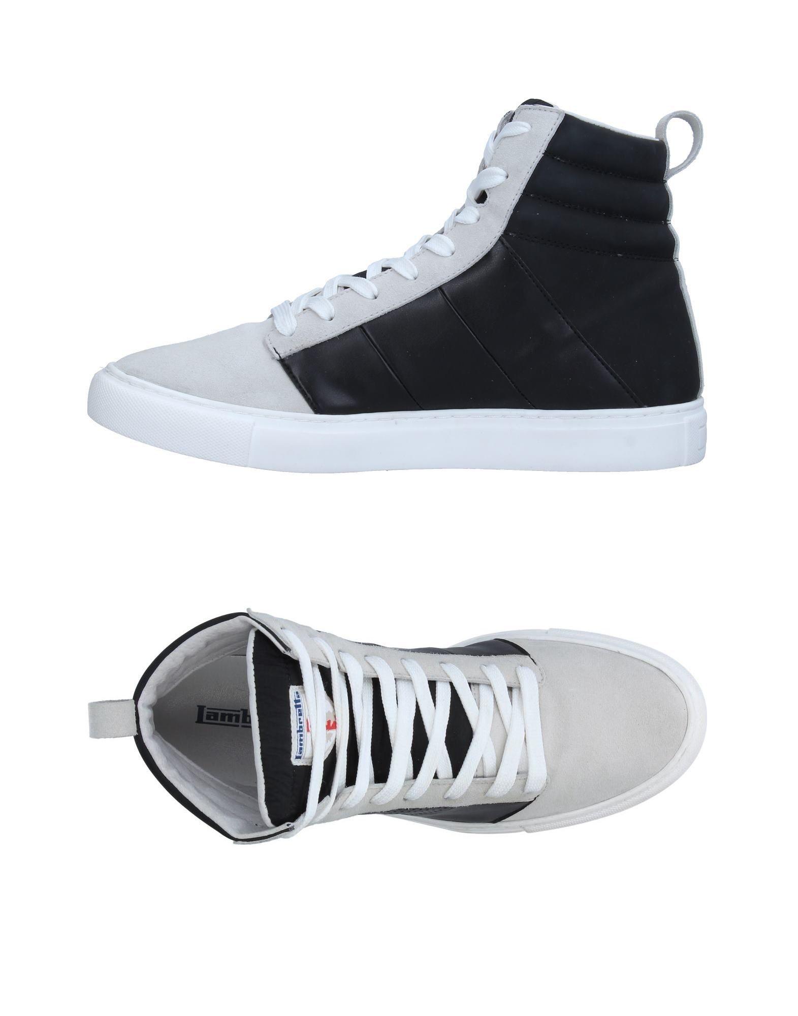 цена  LAMBRETTA Высокие кеды и кроссовки  онлайн в 2017 году
