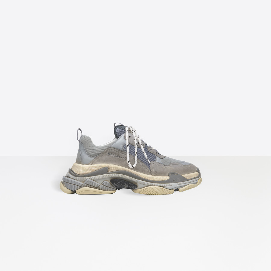 BALENCIAGA Triple S Trainers Triple S Shoes Man f
