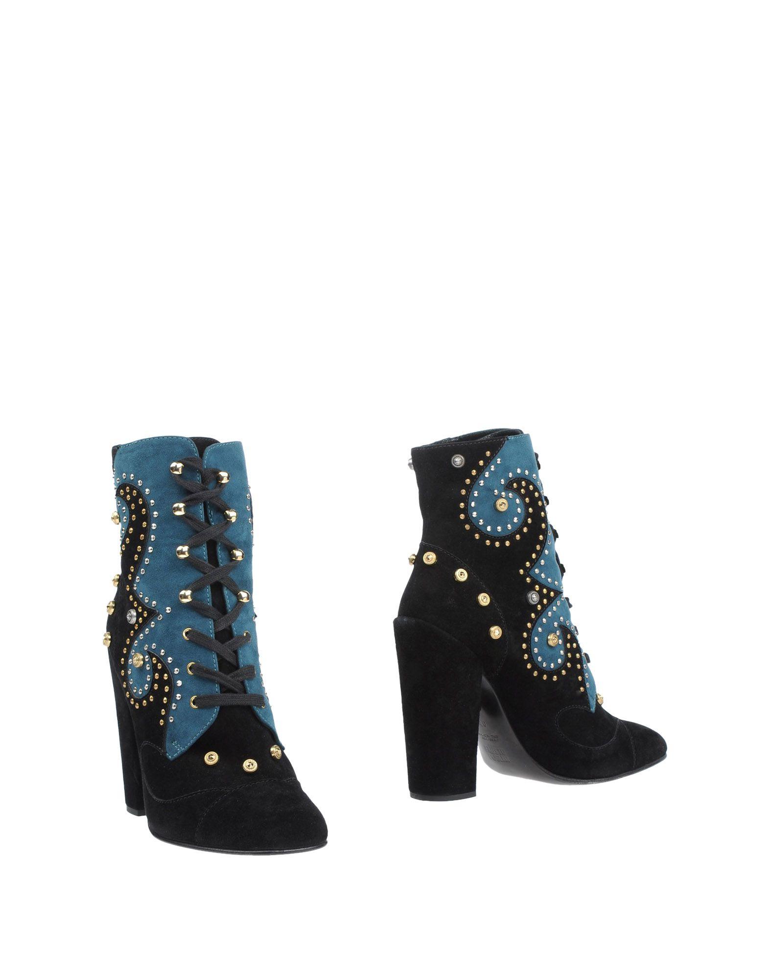 FAUSTO PUGLISI Полусапоги и высокие ботинки цены онлайн