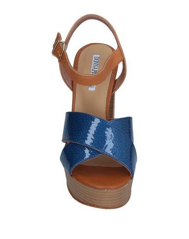 Фото 2 - Женские сандали DONNA PIÙ синего цвета