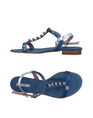 Фото - Женские сандали DONNA PIÙ синего цвета