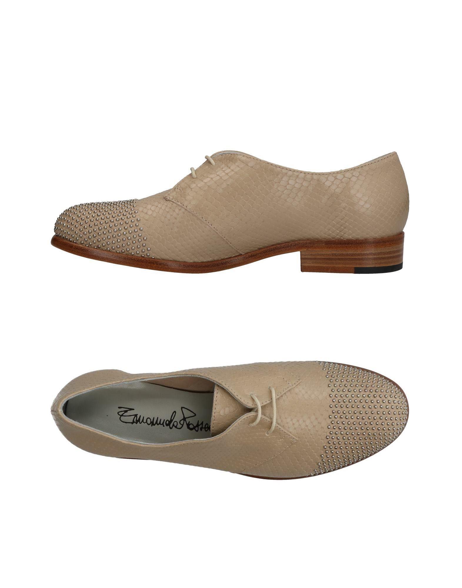 EMANUELA PASSERI Обувь на шнурках цены онлайн