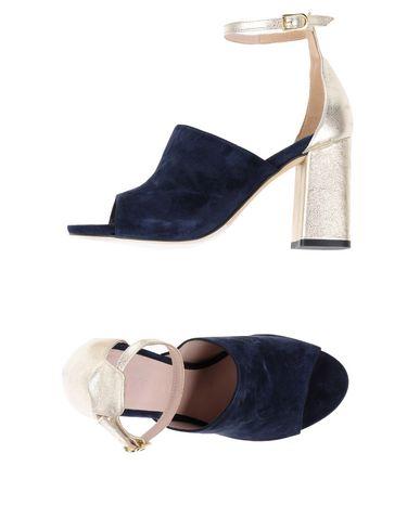 Фото - Женские сандали ANCARANI темно-синего цвета