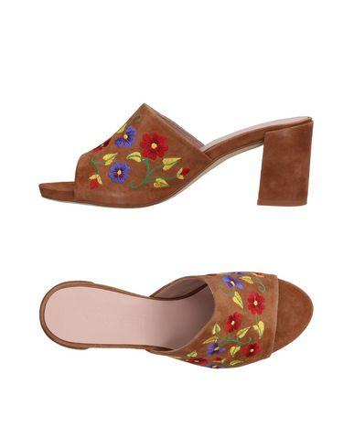 Фото - Женские сандали ANCARANI цвета хаки