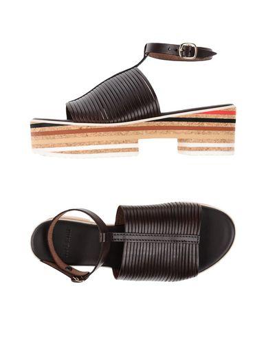 Купить Женские сандали TIPE E TACCHI темно-коричневого цвета