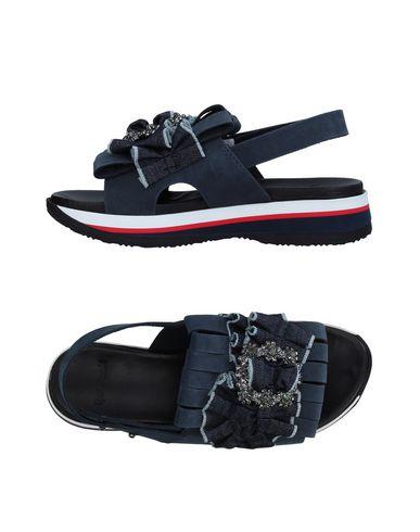 Фото - Женские сандали TIPE E TACCHI грифельно-синего цвета