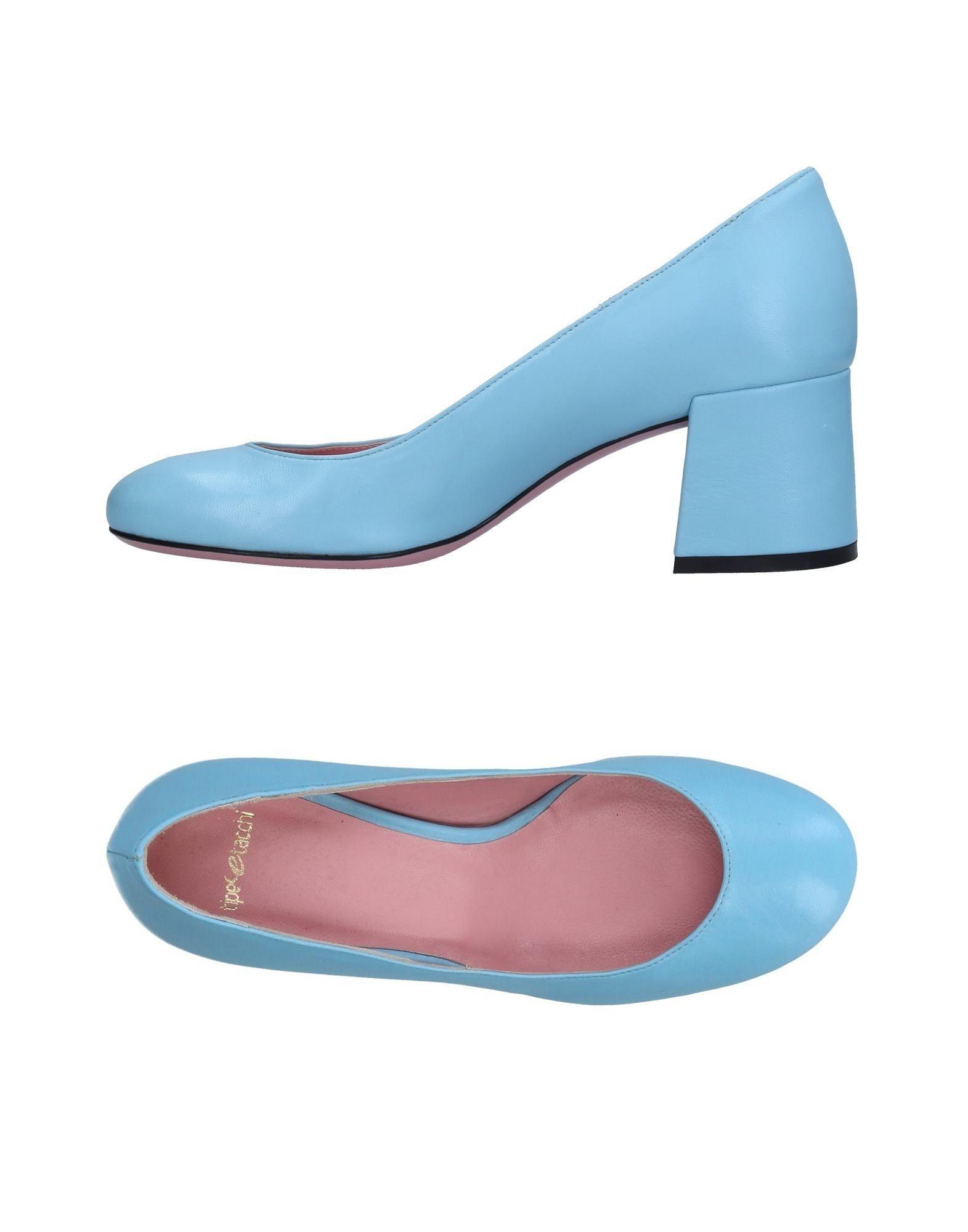 TIPE E TACCHI Damen Pumps Farbe Himmelblau Größe 9 jetztbilligerkaufen