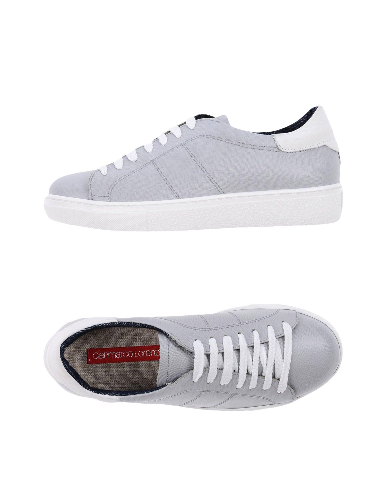 GIANMARCO LORENZI Damen Low Sneakers & Tennisschuhe Farbe Hellgrau Größe 9 jetztbilligerkaufen