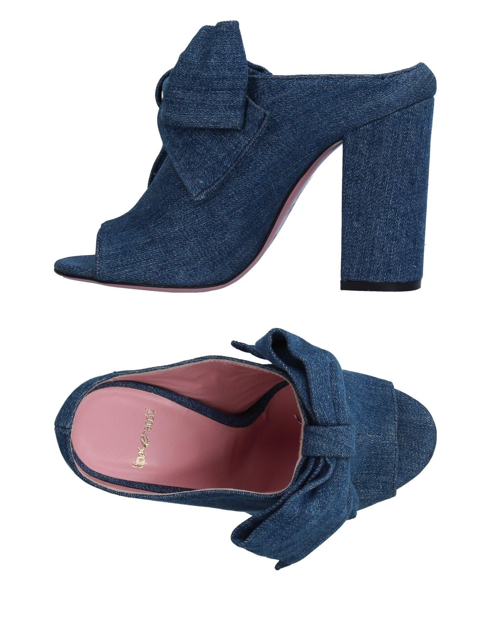 TIPE E TACCHI Damen Sandale Farbe Blau Größe 9 jetztbilligerkaufen