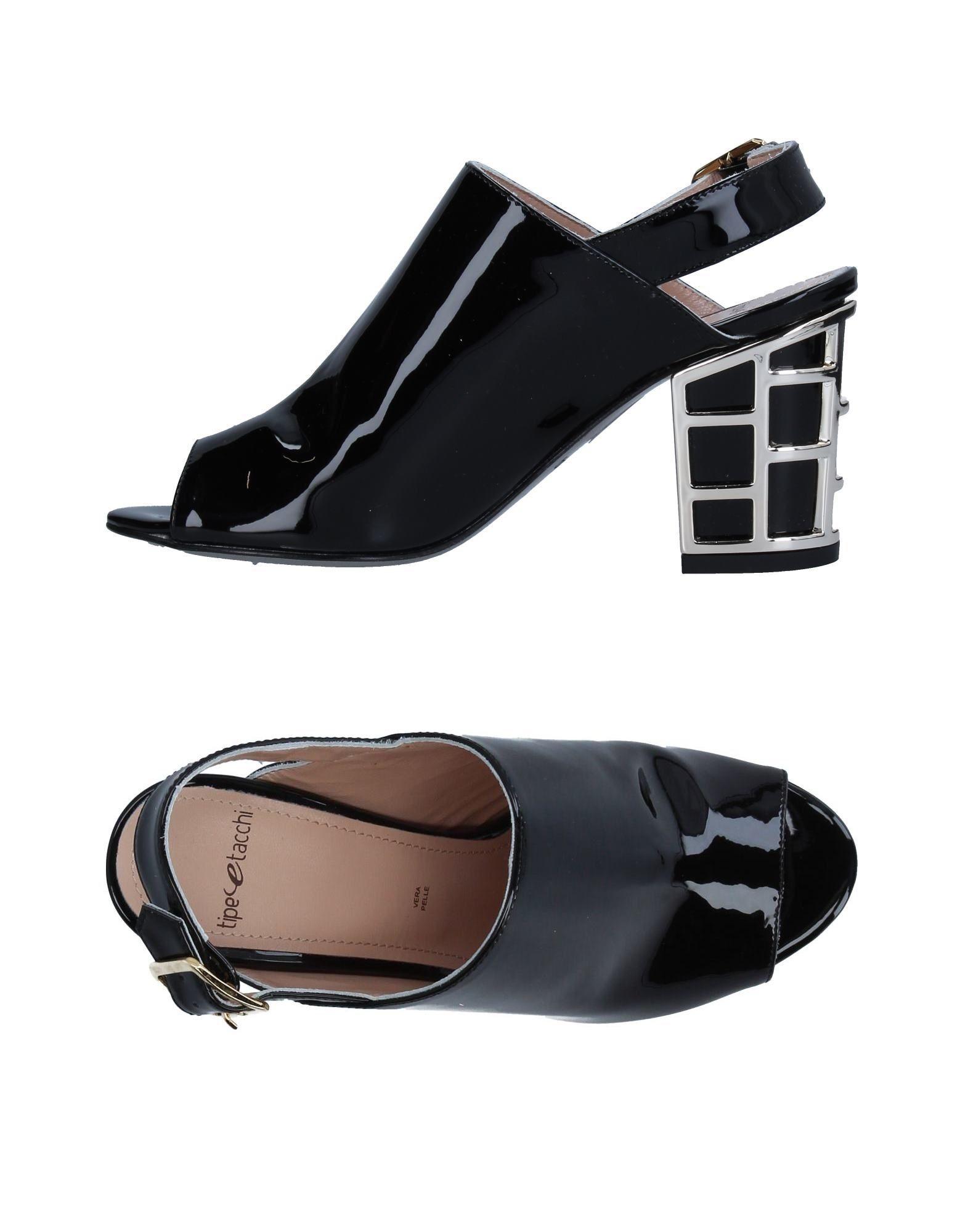 TIPE E TACCHI Damen Sandale Farbe Schwarz Größe 9 jetztbilligerkaufen
