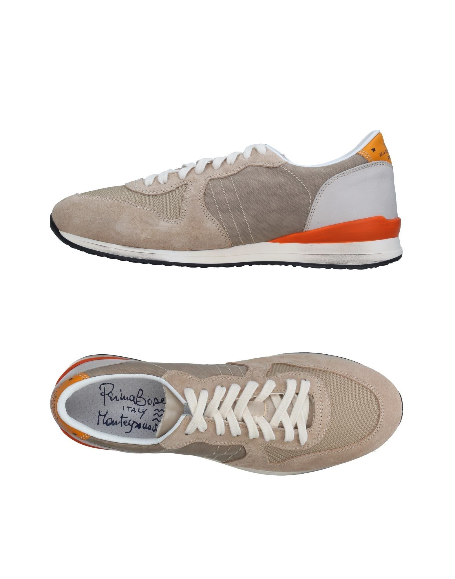 PRIMABASE Herren Low Sneakers & Tennisschuhe Farbe Beige Größe 9 jetztbilligerkaufen