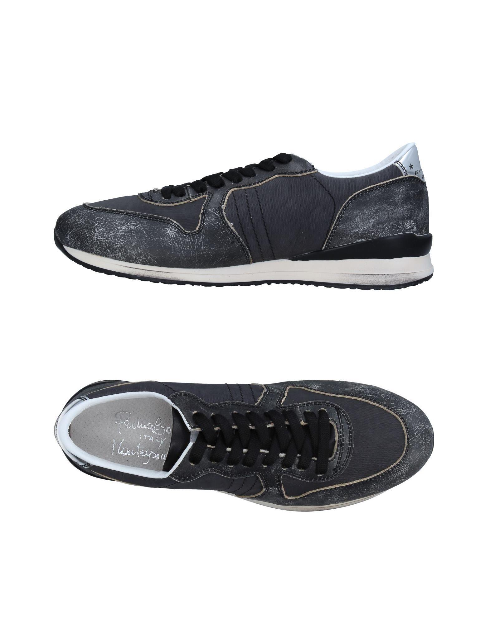 PRIMABASE Herren Low Sneakers & Tennisschuhe Farbe Granitgrau Größe 9 jetztbilligerkaufen