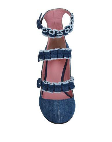 Фото 2 - Женские туфли TIPE E TACCHI синего цвета
