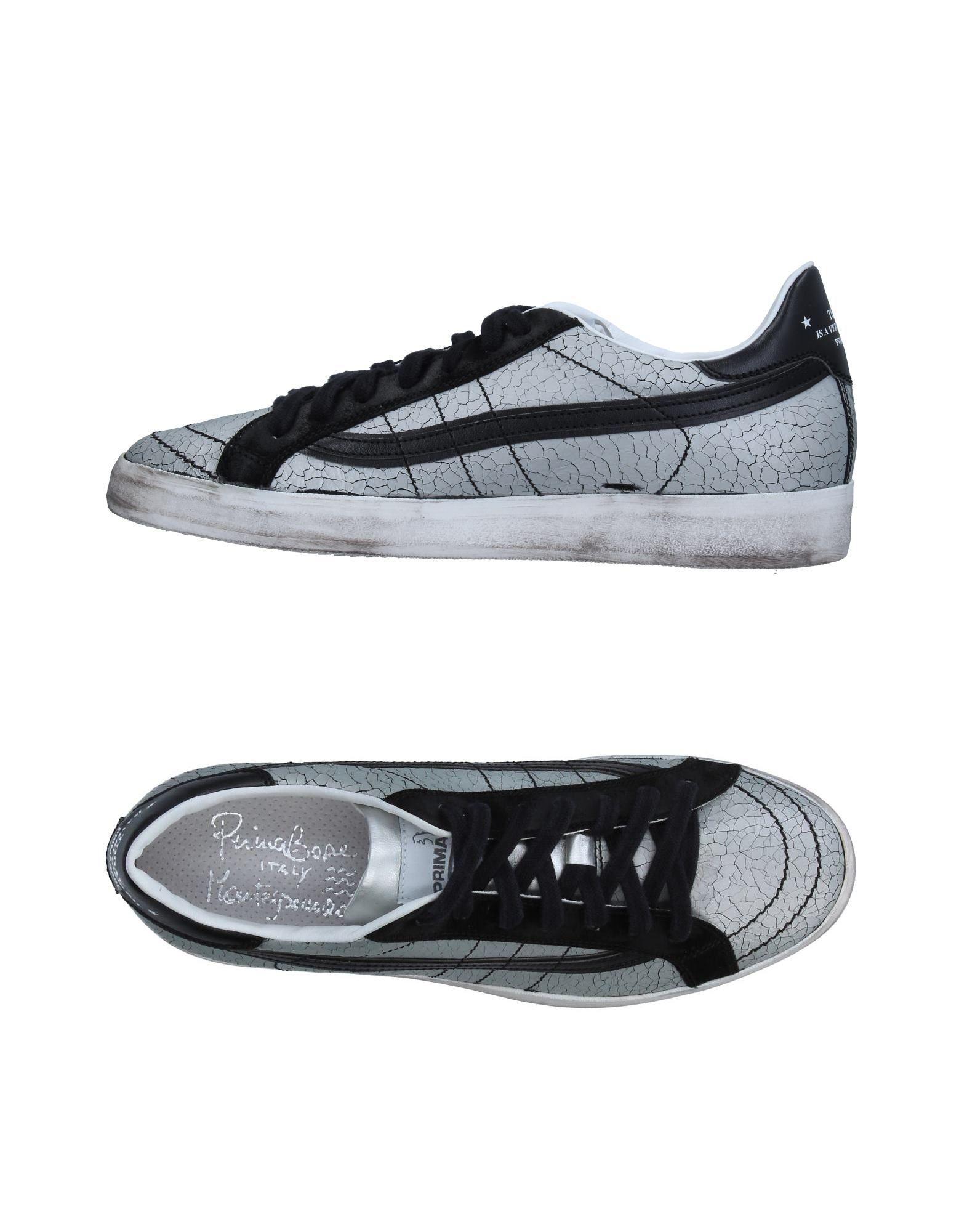 PRIMABASE Herren Low Sneakers & Tennisschuhe Farbe Grau Größe 9 jetztbilligerkaufen