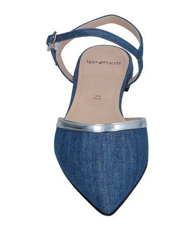 Фото 2 - Женские балетки TIPE E TACCHI синего цвета
