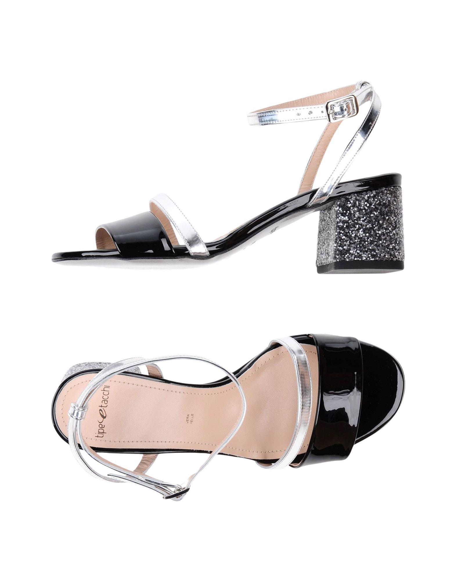 TIPE E TACCHI Damen Sandale Farbe Schwarz Größe 15 jetztbilligerkaufen
