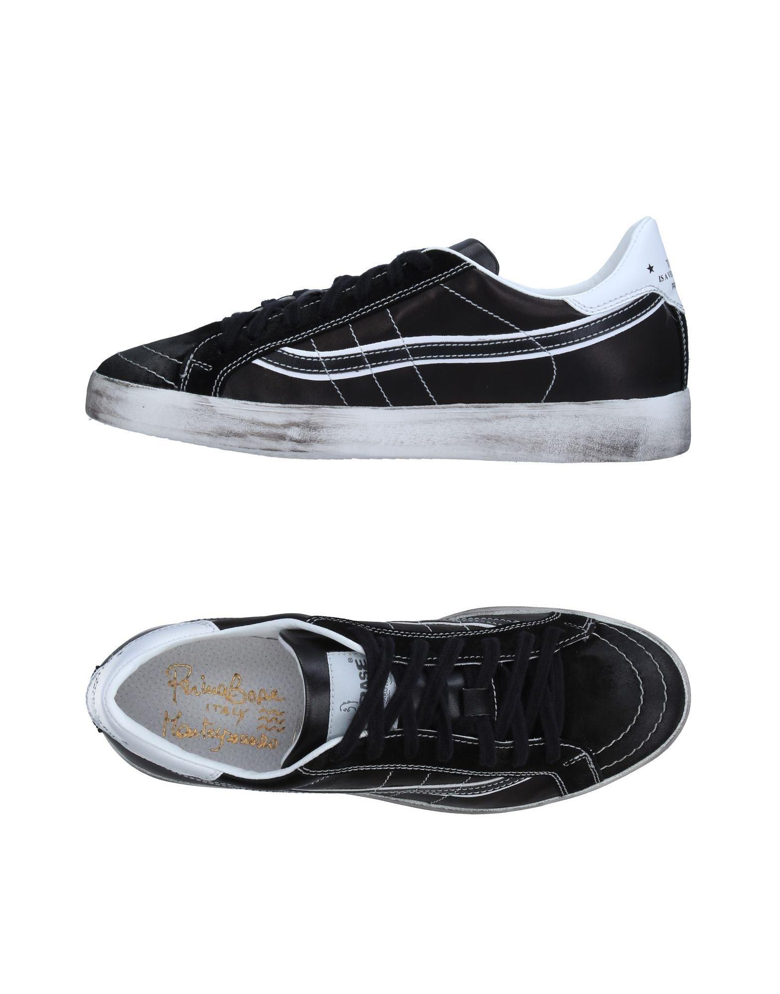 PRIMABASE Herren Low Sneakers & Tennisschuhe Farbe Schwarz Größe 9 jetztbilligerkaufen