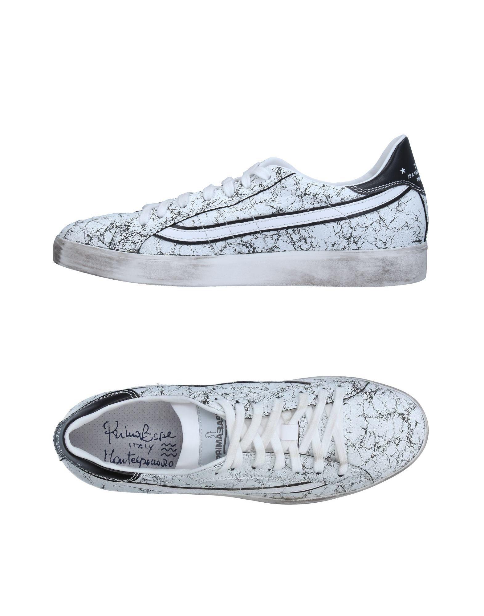 PRIMABASE Herren Low Sneakers & Tennisschuhe Farbe Weiß Größe 9 jetztbilligerkaufen