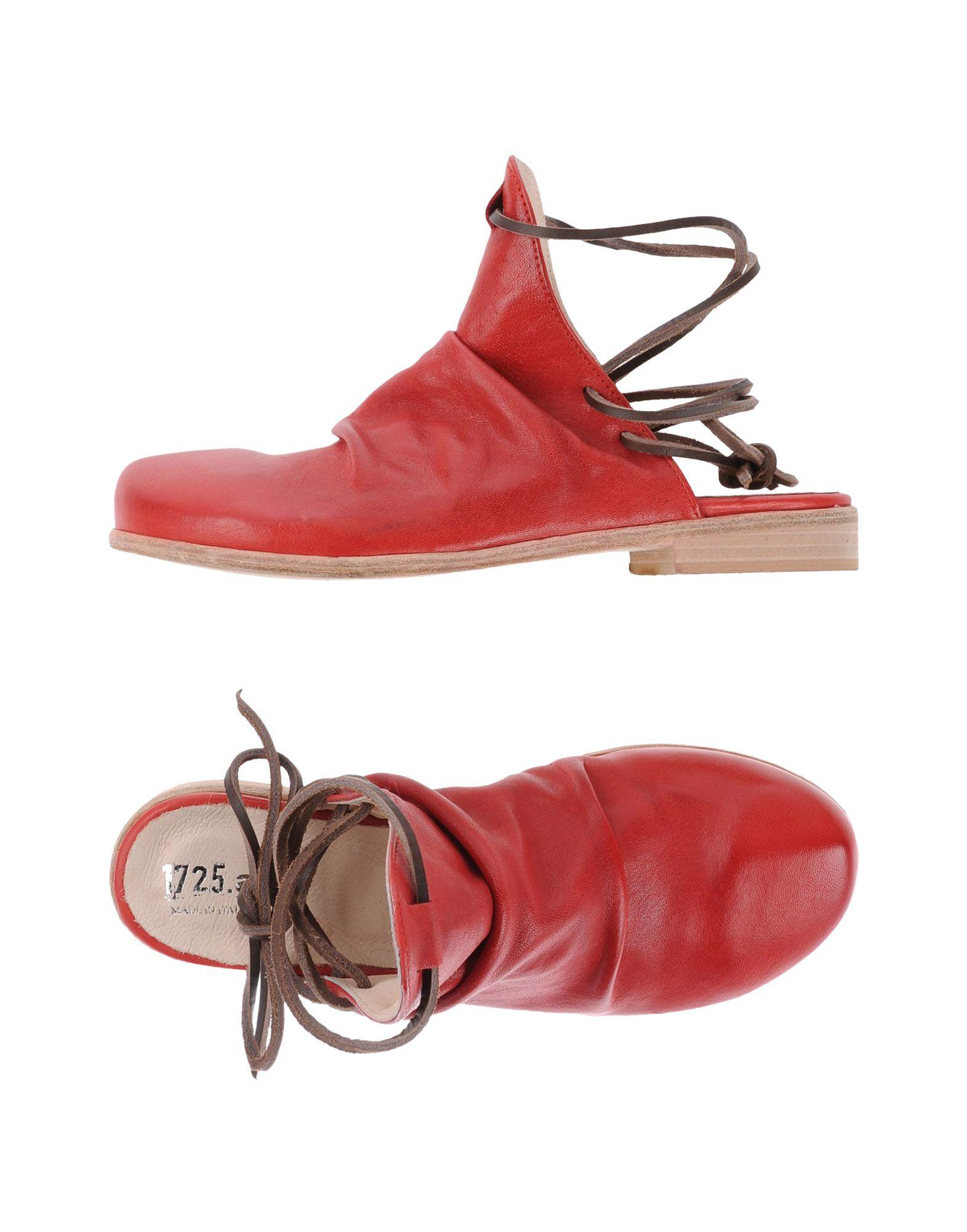 1725.A Damen Mules & Clogs Farbe Rot Größe 9 jetztbilligerkaufen
