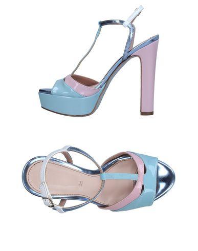Фото - Женские сандали TIPE E TACCHI небесно-голубого цвета