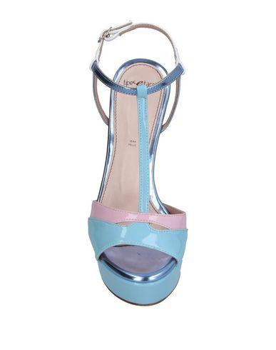 Фото 2 - Женские сандали TIPE E TACCHI небесно-голубого цвета