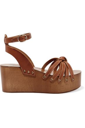 ISABEL MARANT ÉTOILE Zia leather platform sandals