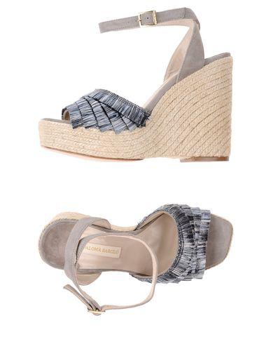 Фото - Женские сандали PALOMA BARCELÓ серого цвета