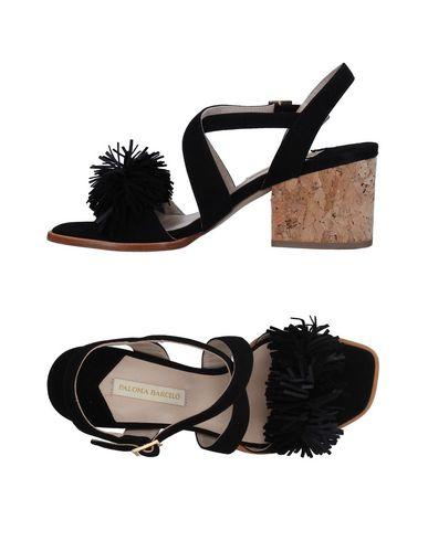 Фото - Женские сандали PALOMA BARCELÓ черного цвета